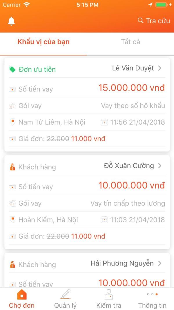 Tima ra mắt Sàn giao dịch trên App và Web