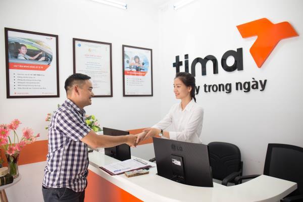 Thủ tục vay tiền Tima tại các PGD bằng đăng ký xe