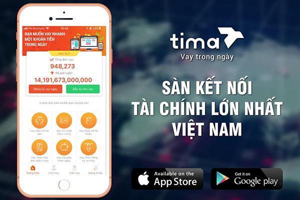 Hướng dẫn cách vay tiền trên Tima qua sàn giao dịch