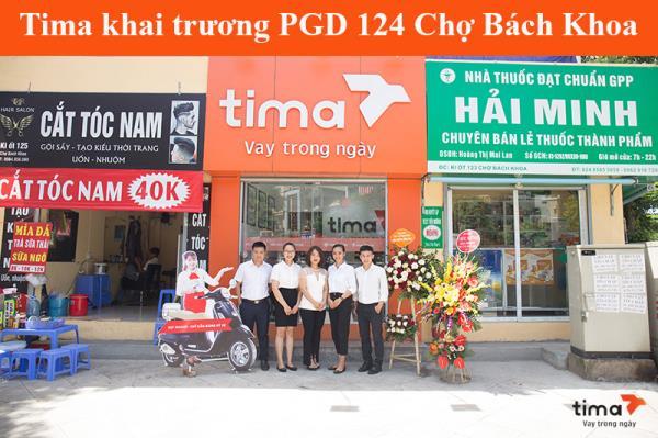 Tưng bừng khai trương PGD Tima 124 chợ Bách Khoa