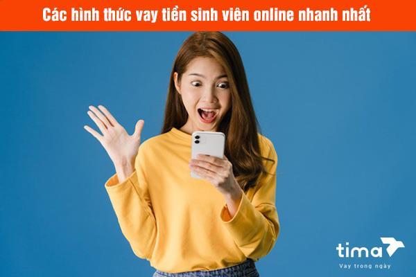 vay tiền sinh viên online