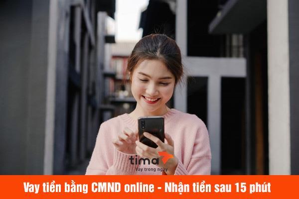 vay tiền bằng CMND online