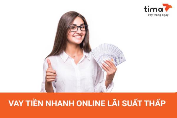 Vay tiền nhanh online lãi suất thấp