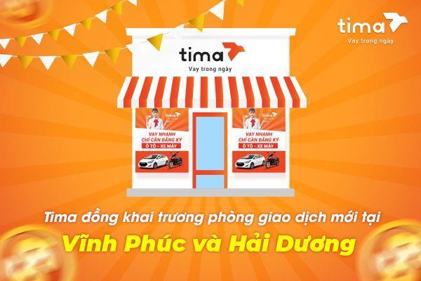 Tima khai trương phòng giao dịch mới