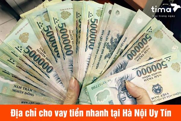 Vay tiền nhanh tại Hà Nội