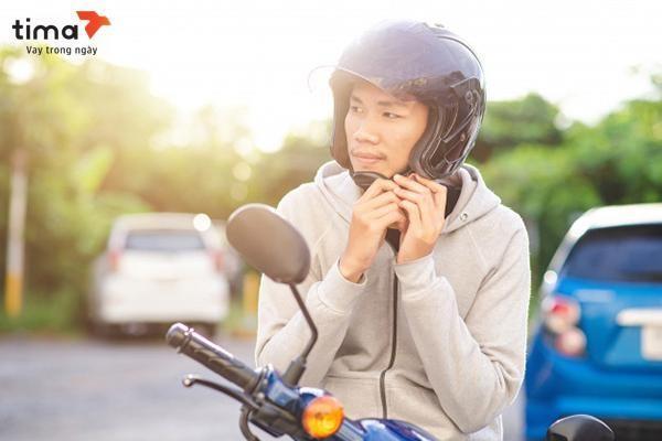 Vay theo đăng ký xe máy