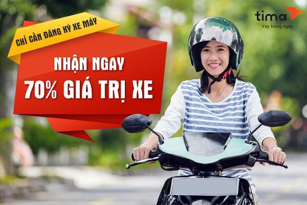 Vay tiền theo đăng ký xe máy không chính chủ