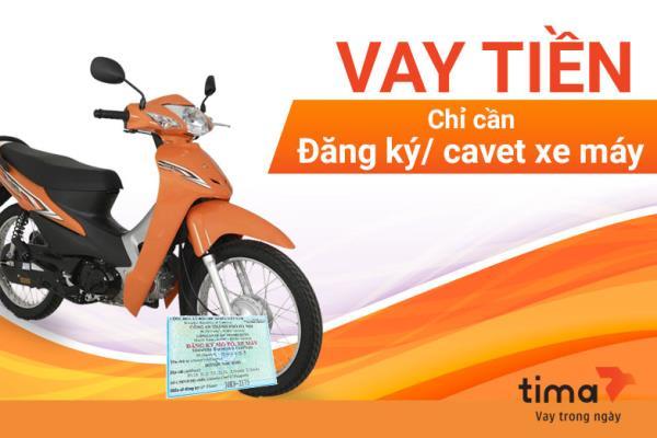 Fe Credit vay bằng đăng ký xe máy