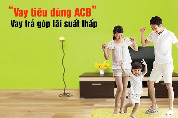 vay tiêu dùng ACB
