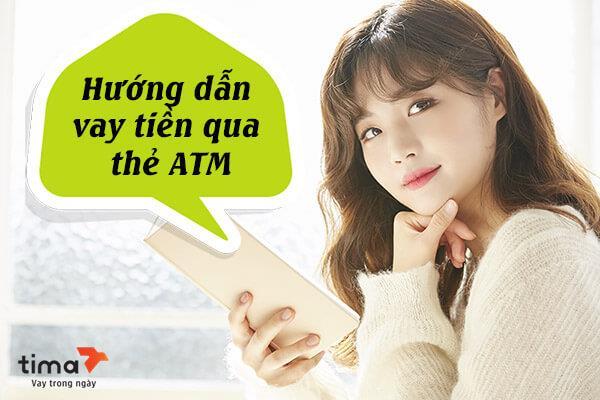 vay tiền qua thẻ ATM